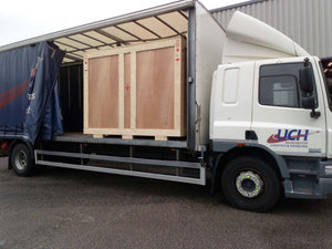Another Cpack export machine ordered and crated for shipping