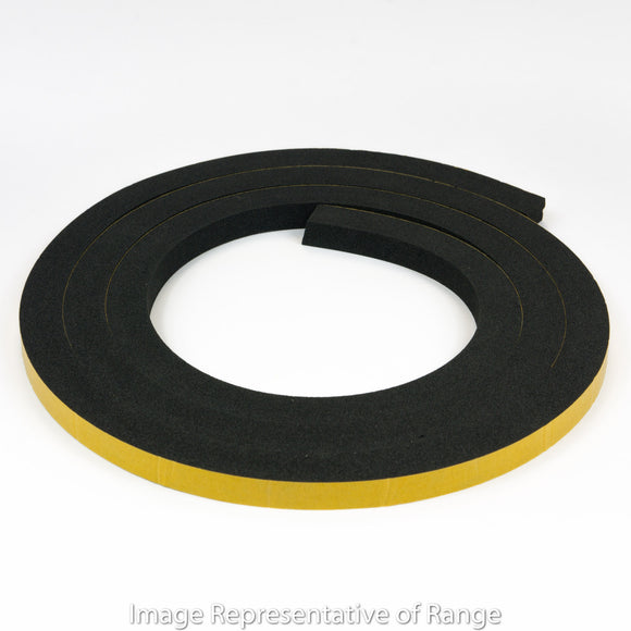 Self-Adhesive Silicone Foam Rubber 13mm x 19mm