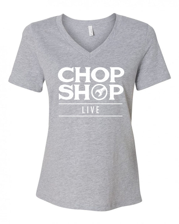 Chop Shop Live Ladies Emblem T-shirt