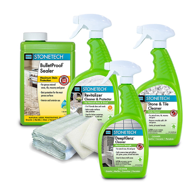 BulletProof Countertop Clean, Seal & Maintain Kit ~ SALE