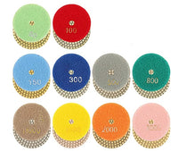 Diamond Polish Pads ~ Set of 10