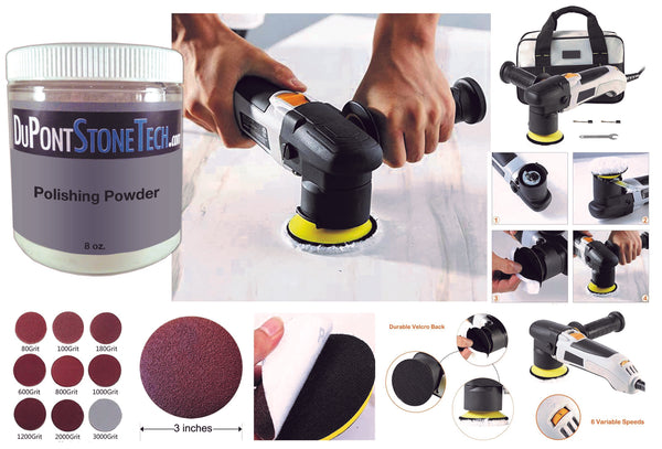Electric Polishing Kit