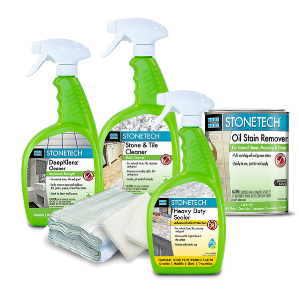 Countertop Stain Removal, Clean & Seal Kit