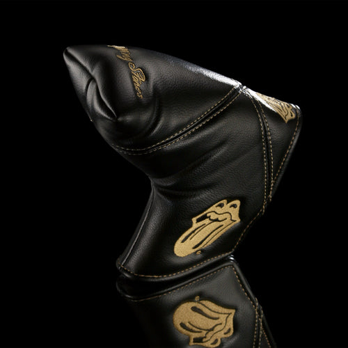 The Rolling Stones Golf Goods (Official Licks Logo) - Blade Putter Cover - Black