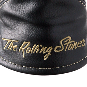 The Rolling Stones Golf Goods (Official Licks Logo) - Rescue Utility cover - Black x Gold