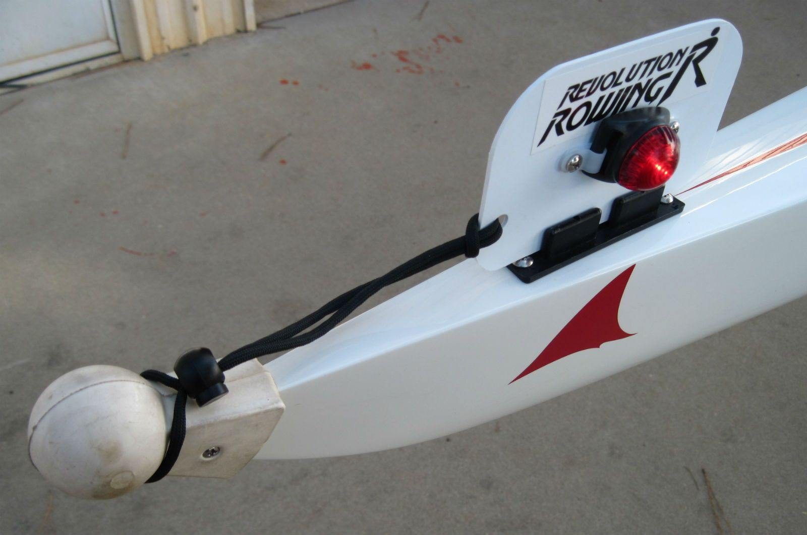 Rowing Shell Bow & Stern Lights