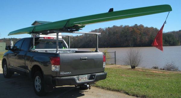 Double Scull Roof Rack 2x Shell Car Roof Top Rack
