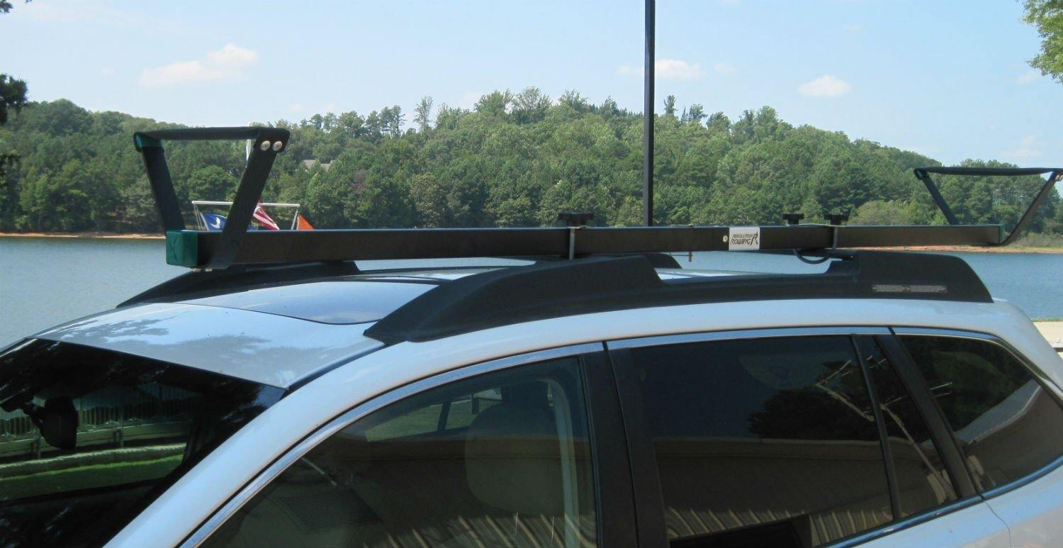 rack roof ecorack a support car en racks malone kayak pour auto toit d