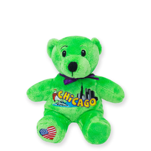 Chicago Symbolz® Neon Green Bear