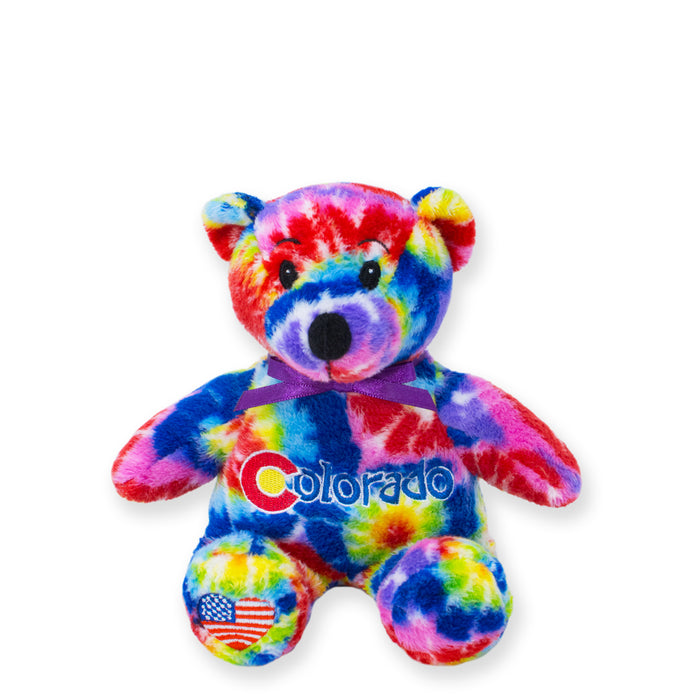 Colorado Symbolz® Tie-Dye Bear