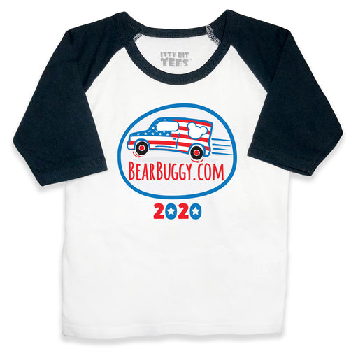 Limited Edition Bear Buggy® Raglan Toddler Shirts