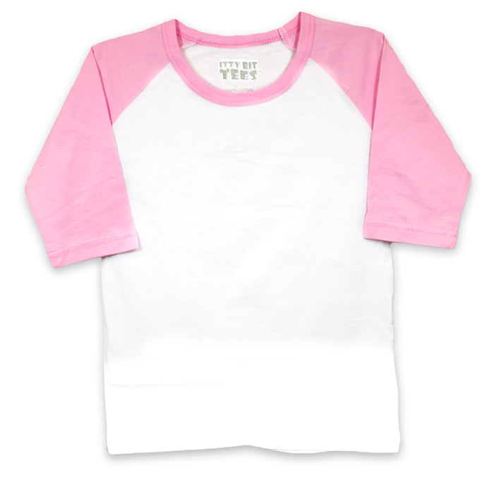 Congrats Toddler Raglan Shirts (Assorted Colors/Sizes)