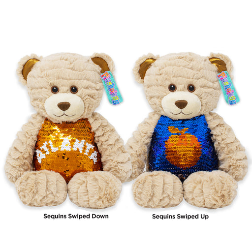 "9.5"" Atlanta Magic Sequins Teddy Bear"