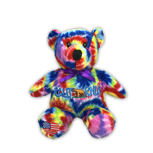 California Symbolz® Tie-Dye Bear