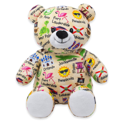 "9"" Florida United Teddy Bear"