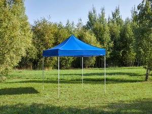 Carpa plegable de 3x3 m - azul