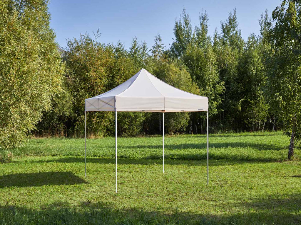 Carpa plegable de 3x3 m - beige