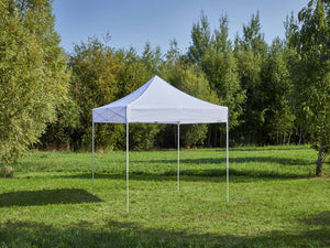 Carpa plegable de 3x3 m - blanco