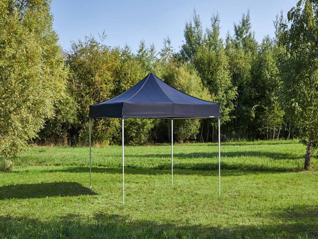 Carpa plegable de 3x3 m - negro