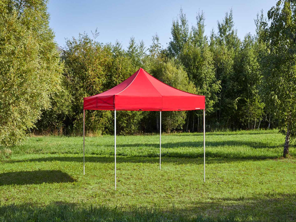 Carpa plegable de 3x3 m - rojo