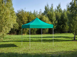 Carpa plegable de 3x3 m - verde