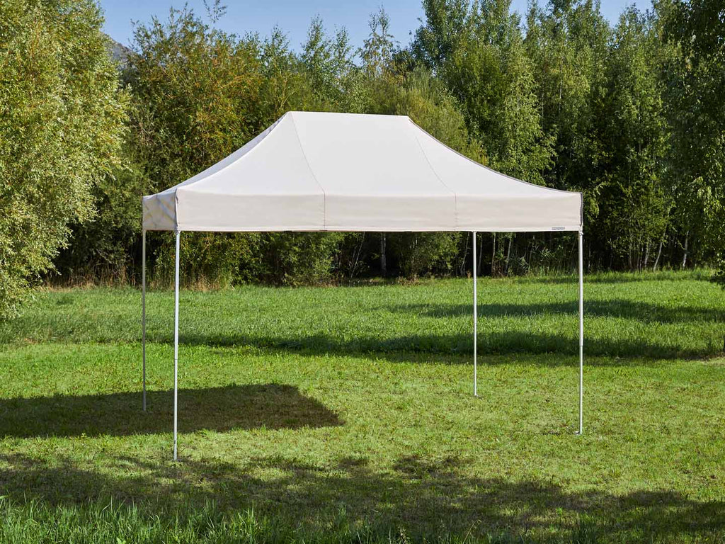 Carpa plegable de 4,5x3 m - beige
