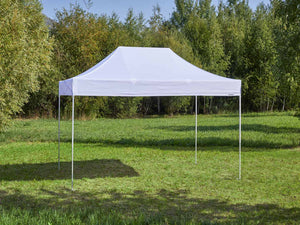 Carpa plegable de 4,5x3 m - blanco