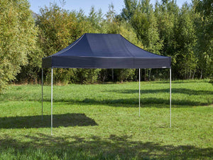 Carpa plegable de 4,5x3 m - negro