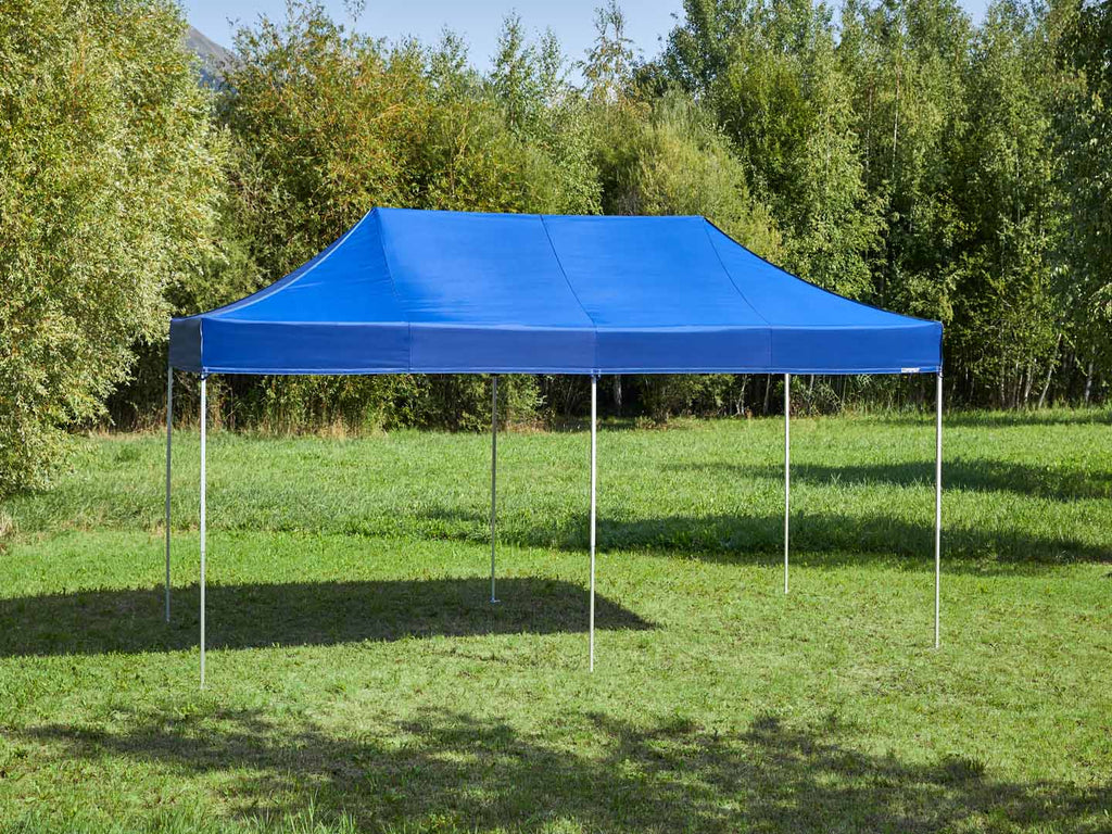Carpa plegable de 6x3 m - azul