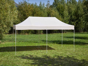 Carpa plegable de 6x3 m - beige