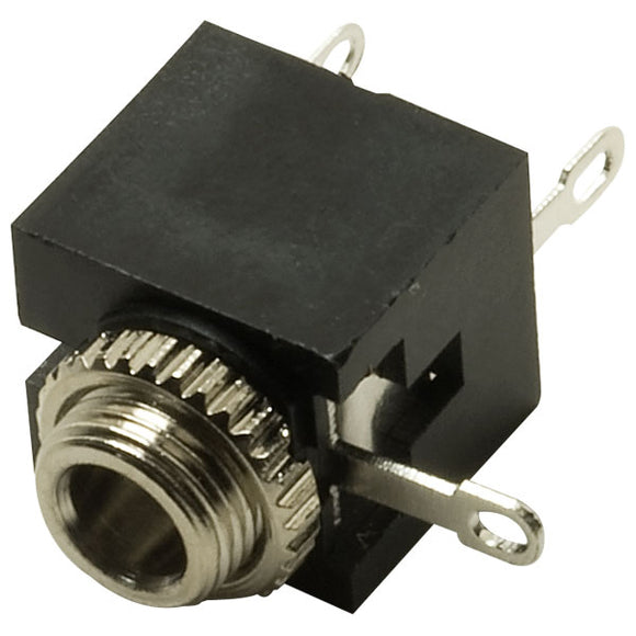 3.5mm Mini Jack Chassis Panel Mount Switched Mono Socket Cube Connector