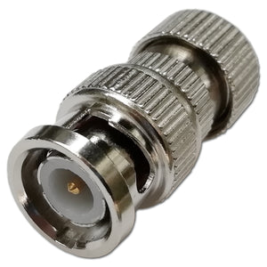 BNC Quick Easy Fit Solderless Male Screw Plug Coaxial CCTV Video Connector