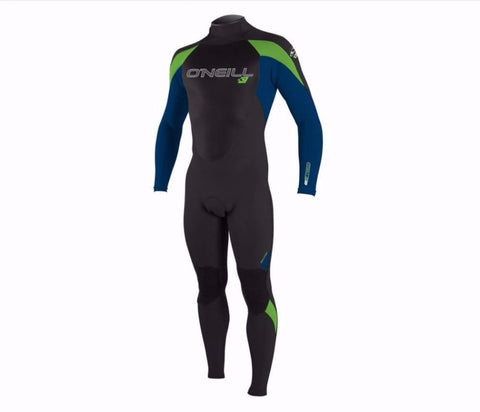 O'Neill Epic Mens wetsuit 5/4 - Blu/Grn