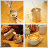 Milk Frother - being used