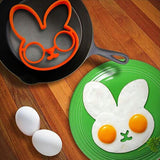 Bunny Egg Mold with fried eggs