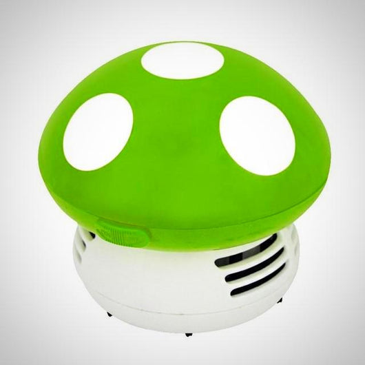Mini Vacuum Cleaner - Mushroom - Green