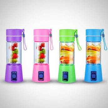 Portable mini USB Juicer - Milkshake & Smoothie Maker - 4 Colors