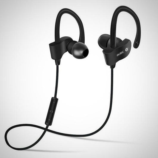 Bluetooth 4.1 Wireless Workout Headphones - Black