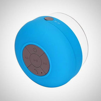 Bathroom Bluetooth Speaker blue