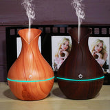 Electric Wooden Humidifier (Aroma diffuser) - 2 Colors