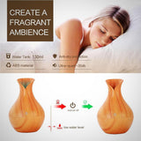 Electric Wooden Humidifier (Aroma diffuser) - Light wood - Fragrant Ambiance
