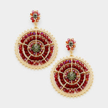 glitterati-earring-red