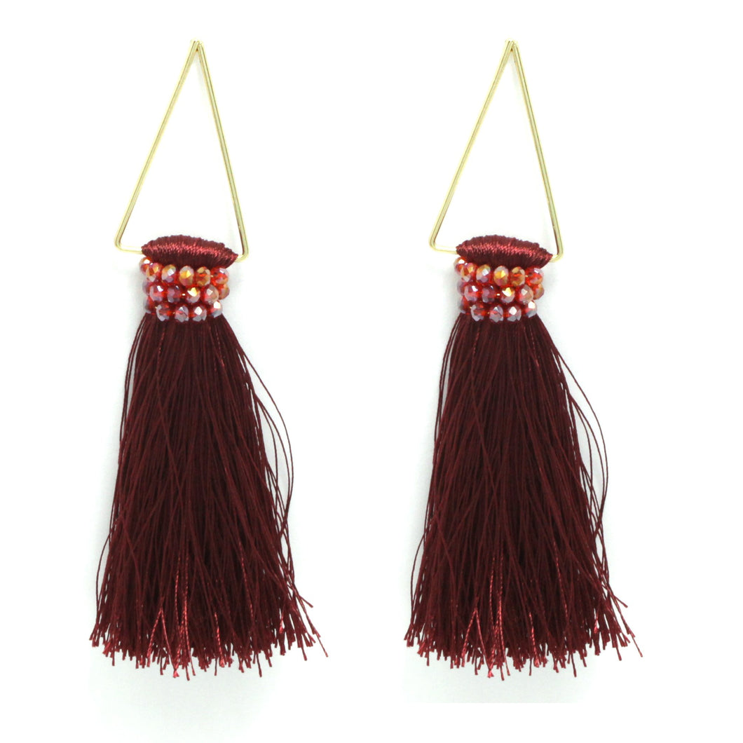 samantha-triangular-tassel-earring