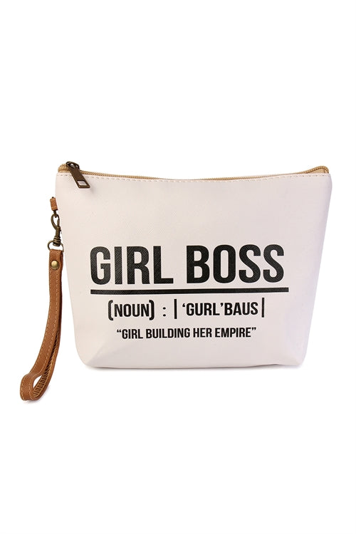 Girl Boss Makeup Bag