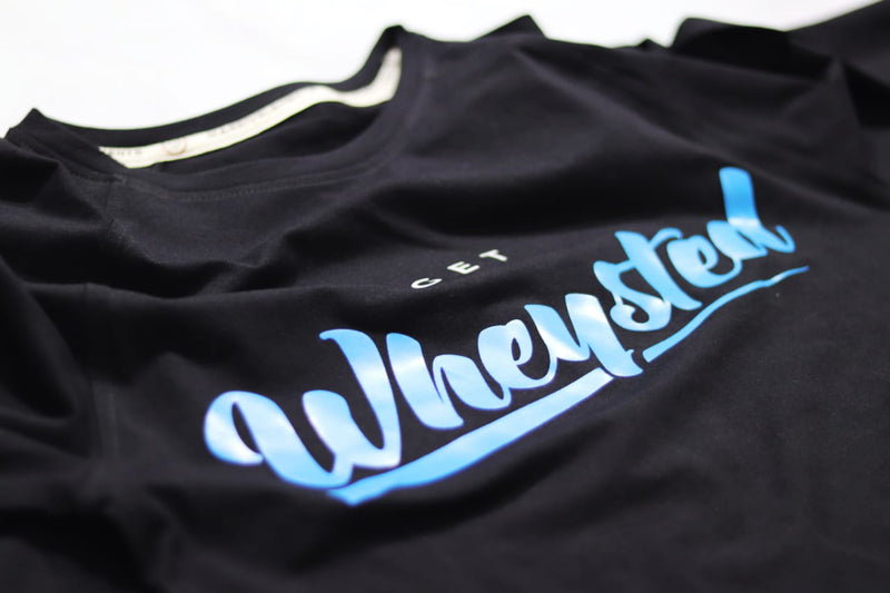 Old School Wheysted Raglan - Black