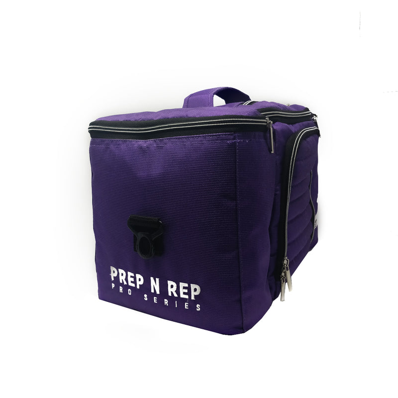 Vibrant Purple Meal Prep Bag