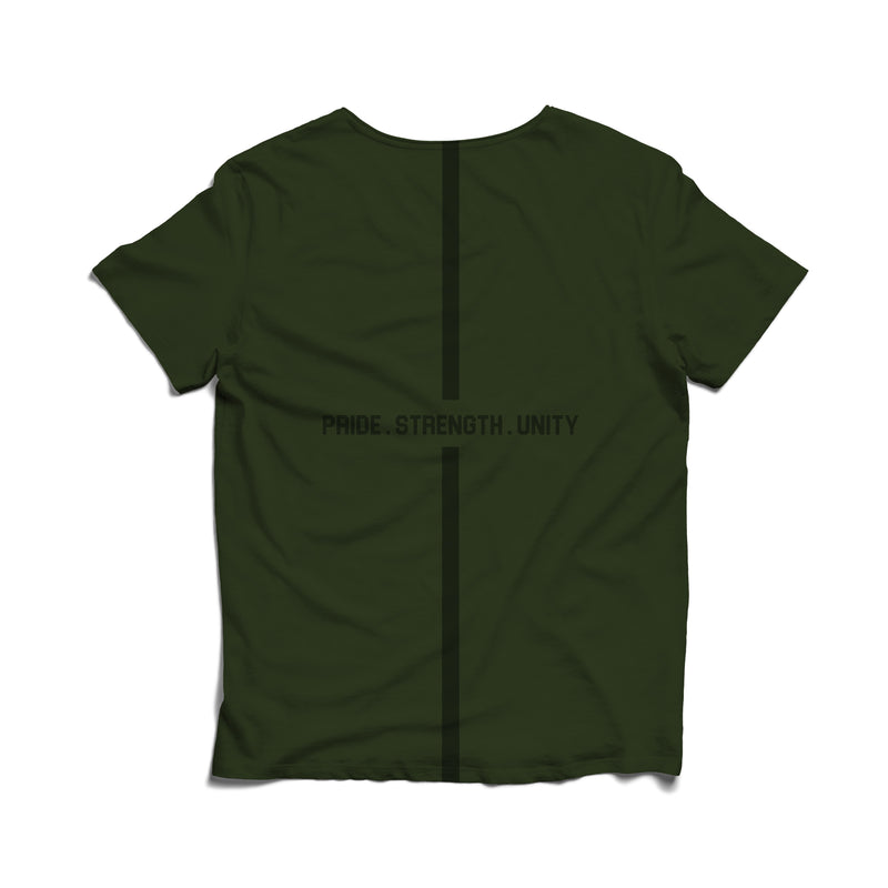 Armed Forces Tshirt - Military Green
