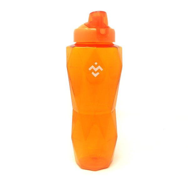Orange Crystal Bottle