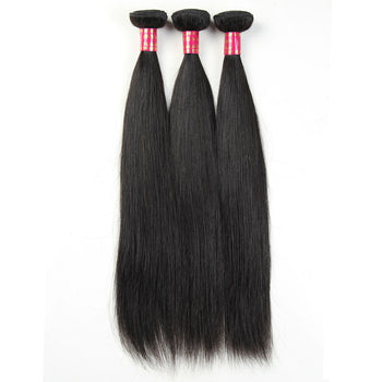 Sweetie Brazilian Virgin Hair Straight Human Hair Weave 3 Pcs Lot - ExcellentVirginHair