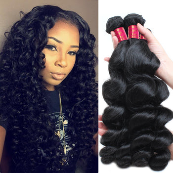 Sweetie Malaysian Loose Wave Virgin Hair 3 Bundle Deals - ExcellentVirginHair